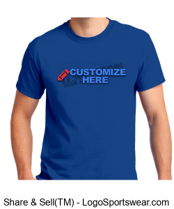 Premium Economy Unisex Tee ~ Customized Design Zoom
