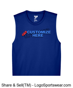 Mens Performance Muscle Tank ~ Customized Design Zoom