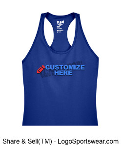 Ladies Racerback Tank ~ Customized Design Zoom