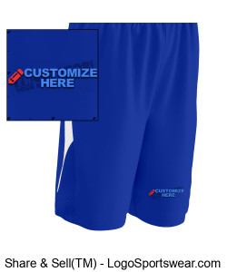 Youth Pivot Reversible Basketball Short ~ Customized Design Zoom